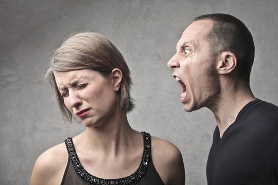 Husband scolds
