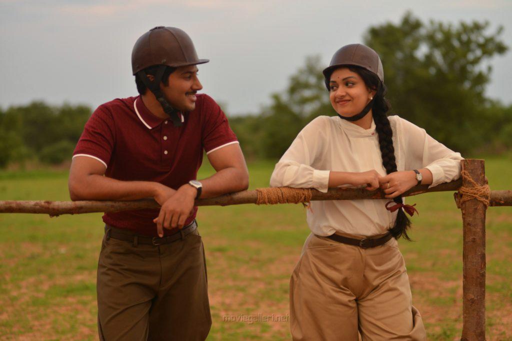 Dulquer Salmaan, Keerthi Suresh in Nadigaiyar Thilagam Movie Images HD